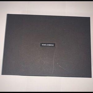 Dolce & Gabbana Empty Shoe Box